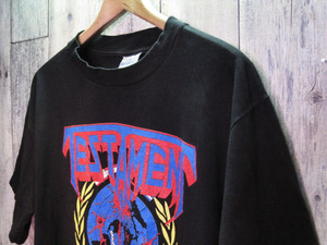 90s TESTAMENT 「Practice What You Preach」 バンドTシャツ (送料込み)