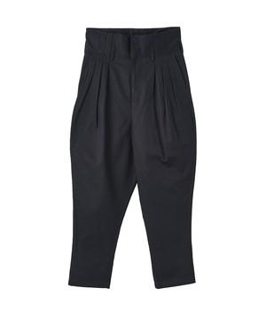 HIGH WAIST TUCK PANTS(JUHA)