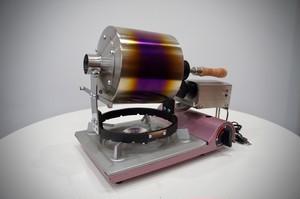 電動miniコーヒーロースター チタン製 HMR600-T i