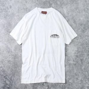 """90年代 USA製 """" KHAKI JUNGLE """" バックプリントTシャツ M 古着 A483"""