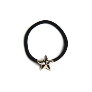 CONSIGLIERE/コンシリエーレ 5K gold star hair band-BK
