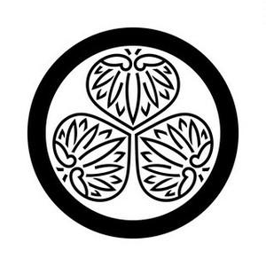 丸に陰三つ葵 aiデータ