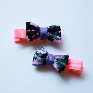 wacco×Neige accessories. リボンヘアクリップ2個セット