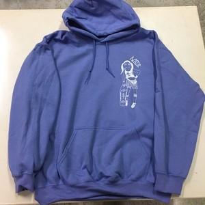 生ず パーカー 薄紫 L