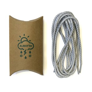 "Alwayth ""3M Shoe Lace #1"" WH"