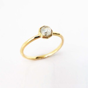 Rose Cut Diamond Ring(R310-YD)