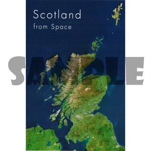 スコットランド風景ポストカード【スコットランド】Colin Baxter 90121-SAT1