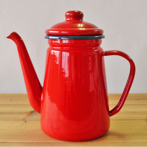 ホーローコーヒーポット1.1L レッド or ネイビー