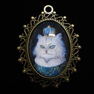 カメオマグネット ネコ