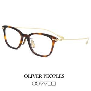 日本製 オリバーピープルズ メガネ COLLINA dm OLIVER PEOPLES collina ウェリントン 型 眼鏡 メンズ レディース べっ甲 フレーム