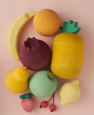 Raduga Grez Wooden fruit Set