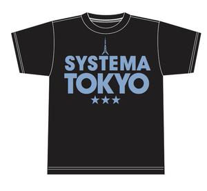 SYSTEMA TOKYO Ladies' T-shirts Black(黒)