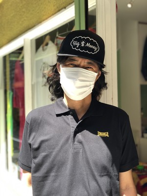 【 LONSDALE × DUSTANDROCKS 】Logo Polo-shirts