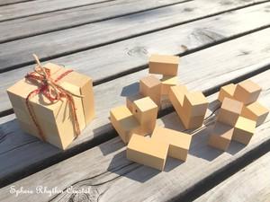 青森ひば 木製立体パズル ソーマキューブ