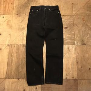 levis 501 black denim pants UB-761