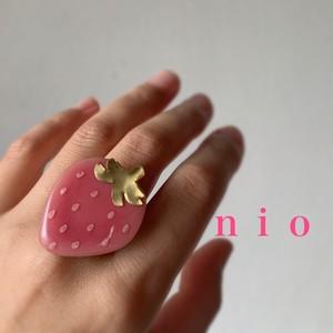 苺リング ピンク 大サイズ
