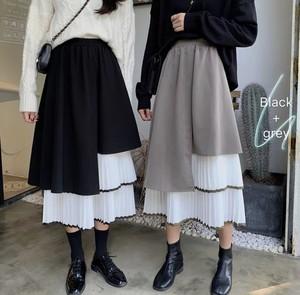 全2色♡ アシンメトリープリーツスカート♡