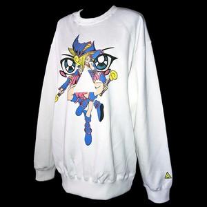 """""""黒魔術士♀"""" printed sweatshirts"""