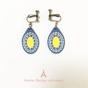 OVAL(BlueGlay × Lemon)