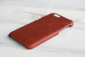 【受注生産】iPhone 7plus / 8plus 用 レザーケース 床革ココア
