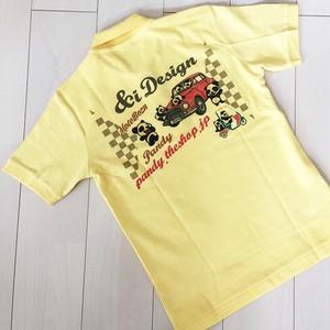 PANDY&BAMBY鹿の子ポロシャツ