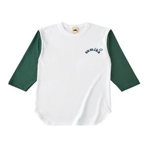 sumika / 七分袖Tシャツ(グリーン)