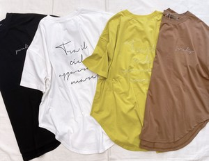 AnnaKerry(アンナケリー) バックロゴ t-shirt  2021夏物新作