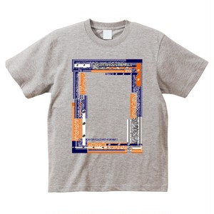 ANSWER COLLECTION / PATCHWORK PAISLEY FRAME TEE