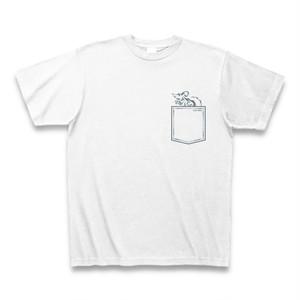 送料無料 ポケットマウス/ネズミ(小動物)オリジナル メンズTシャツ