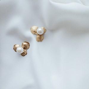 【和装・洋装】vintage pearl flower