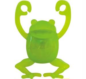 ぶらさカエル 緑