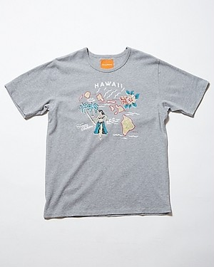 EVERYTHING EXPECTED TEE/SPA STONE HEATHER