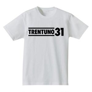 TRENTUNO31 Organic T-shirts S/S White