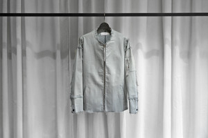 ASKYY / Y DENIM JACKET / GREYSH ICE GREY