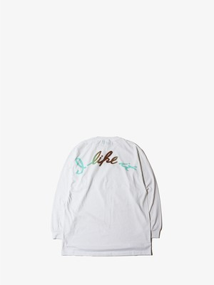 EZ DO by EACHTIME.  I Like It L/S  Tee チョコミントグラデーション