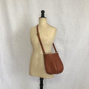 帽子型 ショルダーバッグ 6parts ( red  brown )