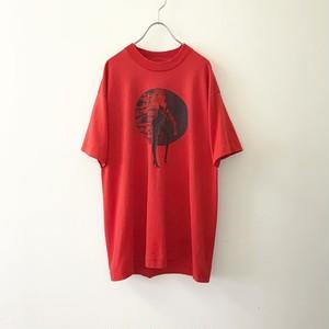 SCREEN STARS BEST プリントTシャツ レッド size XL メンズ 古着