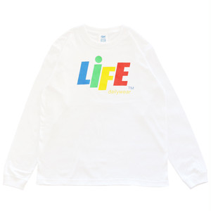 CANDY LOGO L/S Tee TYPE-1 / LIFEdsgn