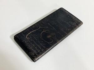 ベルルッティ カリグラフィ レザー メンズ 二つ折り 長財布