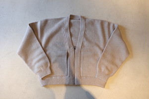 『crepuscule』whole garment ZIP CD