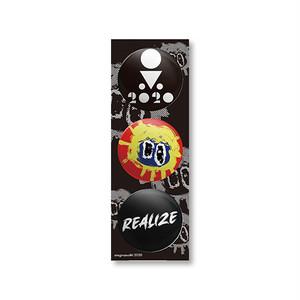 REALIZE BADGE 3点セット(シール台紙付き)
