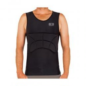 Ocean & Earth  RIB GUARD PADDED SINGLET Black Mサイズ