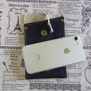 iphoneケース 7&6&SE 真田紐 岡山産denim。 box style2