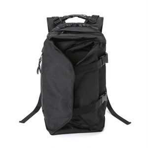 LORINZA Double Strap Backpack Black LO-STN-BP01