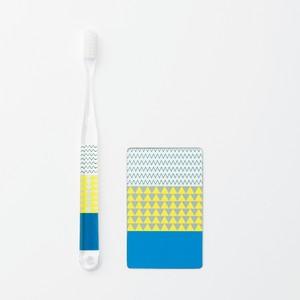 歯ブラシ・うす鏡セット(DELTA)[0130231191]