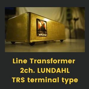 LineTransformer 2ch.LUNDAHL/TRS terminal typeーAMATERAS 0002