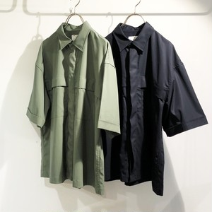 I 【アイ】 SNAP FRONT SHORT SLEEVE SHIRT