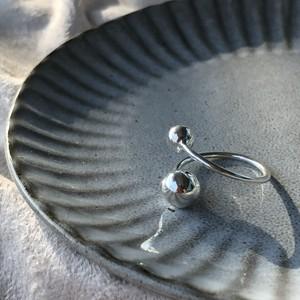 silver925  bowlオープンリング  RS19065
