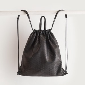 i ro se net knap / tote bag black