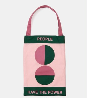 Damien Poulain PEOPLE POWER TOTE BAG